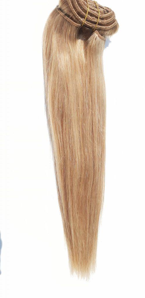 in clip ekxtensions ægte hår